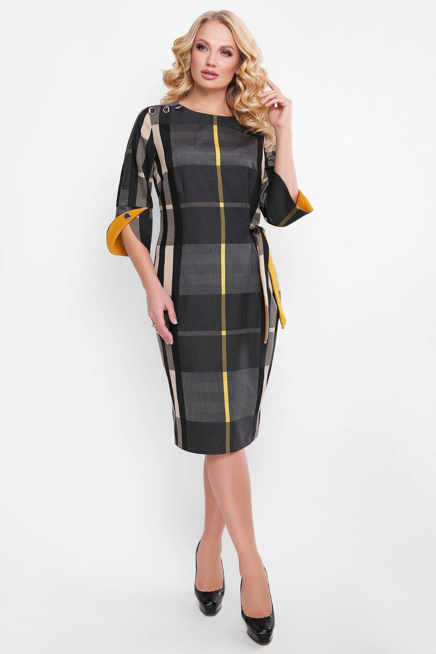 Сукня Джулія жовта смуга - купити недорого — Donna Bella - V-Джулия-2-52 082f33ee22543