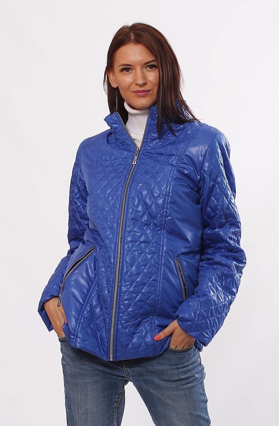 Демісезонна комбінована куртка Murenna електрик - купити недорого ... 91f67b1a17846
