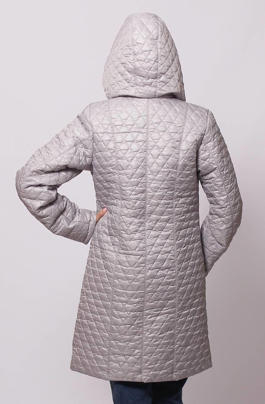 3c2323b7f89b Женская куртка КС-13 сталь - купить недорого — Donna Bella - MF-КС13 ...