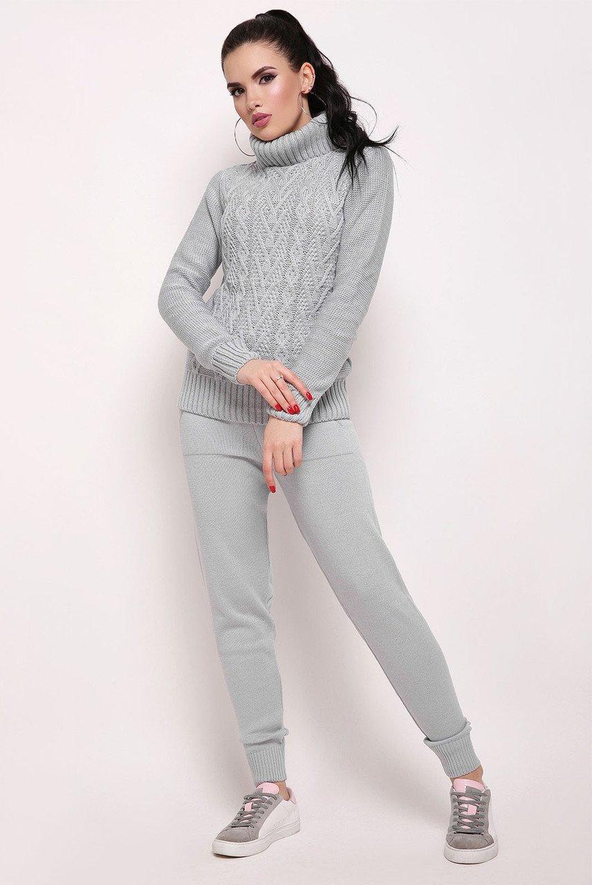 Светло-серый костюм Хинза - купить недорого — Donna Bella - A-Хинза-7-42 210eb2197ca77
