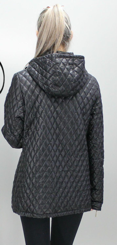 38464a32e1e Женская черная куртка Джина - купить недорого — Donna Bella - MF ...
