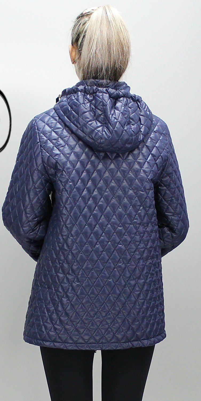 84e20aa4b7b Темно-синяя женская куртка Джина - купить недорого — Donna Bella ...