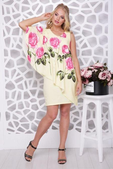 платья больших размеров для женщин которые любят красиво и стильно