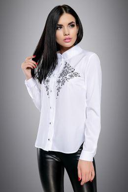 f2a80273ef2 Белая блуза 2708 - купить недорого — Donna Bella - 2708-44