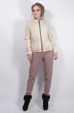Жіноча бежева куртка К-39 - купити недорого — Donna Bella - MF-К39-16-42 4c797e57bbd7a