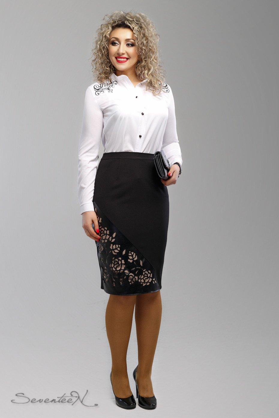 f1955627115 Черная юбка 1991 - купить недорого — Donna Bella - 1991-48
