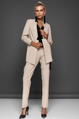78385031543cbd Бежевий брючний костюм Фейт - купити недорого — Donna Bella - J-Фейт ...
