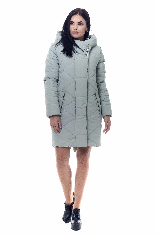 70dc07efc17 Женское черное зимнее пальто Каролина - купить недорого — Donna ...