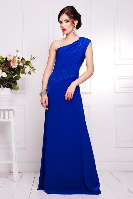 016dc25b254 Вечернее платье цвета электрик Юна купить недорого