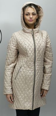 Бежева жіноча куртка КС-13 - купити недорого — Donna Bella - MF-КС13 ... 44ae8231ce4bf
