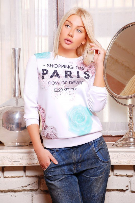 "Кофта""Sweatshirt"" 1263d FashionUp"