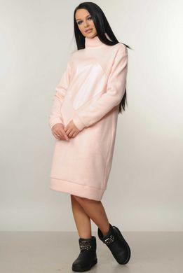 63ff0391eb12a6 Сукня Ромб пудра - купити недорого — Donna Bella - Ри-Ромб-2-42
