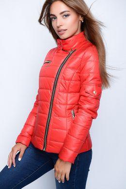 Червона осіння куртка 22753 - купити недорого — Donna Bella - GT ... 817e57b65ad80