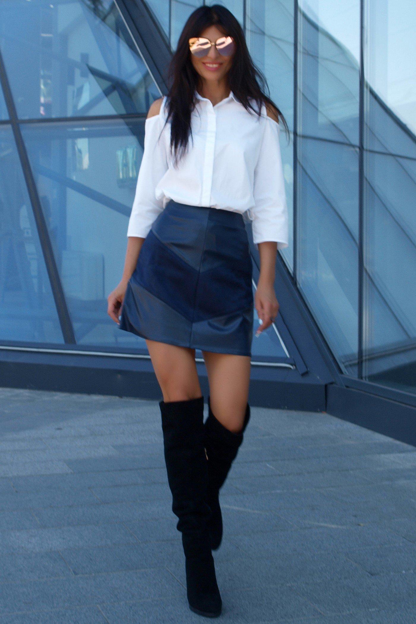 a289dc98ff8 Темно-синяя юбка Рейна - купить недорого — Donna Bella - J-Рейна-1-42