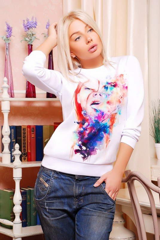 "Кофта""Sweatshirt"" 1242d FashionUp"