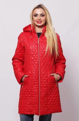 Червона куртка Саманта - купити недорого — Donna Bella - MF-КС11-3-40 8d60d5bd56753