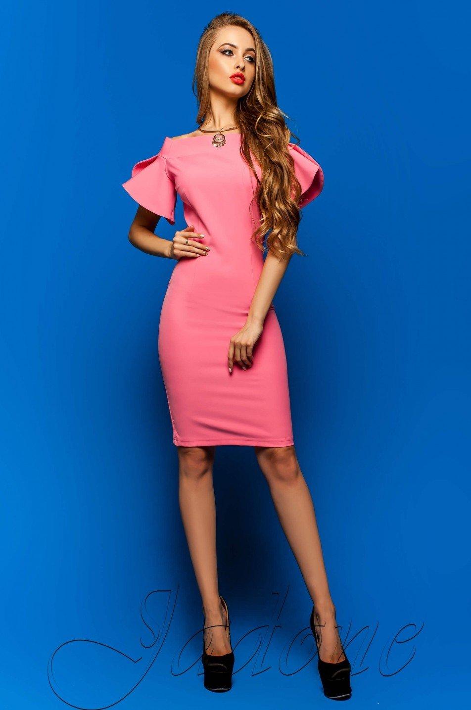 0ef9bc7c8ff Женское платье Пирелли фуксия - купить недорого — Donna Bella ...