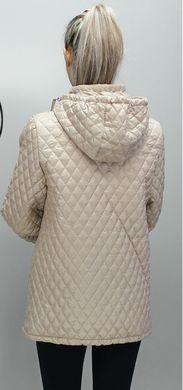 d6563cd5bef Демисезонная бежевая куртка Джина - купить недорого — Donna Bella ...