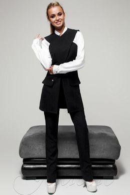 Брючний жіночий чорний костюм Канді - купити недорого — Donna Bella ... aa2b08778f7d9