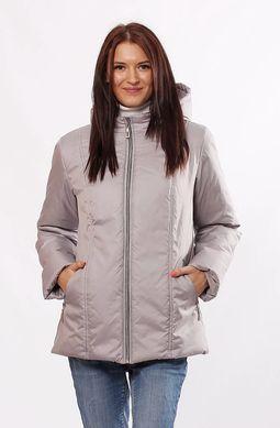 Демісезонна куртка Murenna сталь - купити недорого — Donna Bella ... b40a97b49e59b