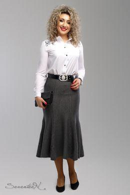 0649c6c1784 Стильная серая юбка 1998 - купить недорого — Donna Bella - 1998-52