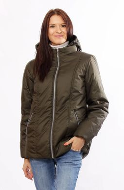 Демісезонна куртка Murenna хакі - купити недорого — Donna Bella - MF ... bf77d4a6d326b