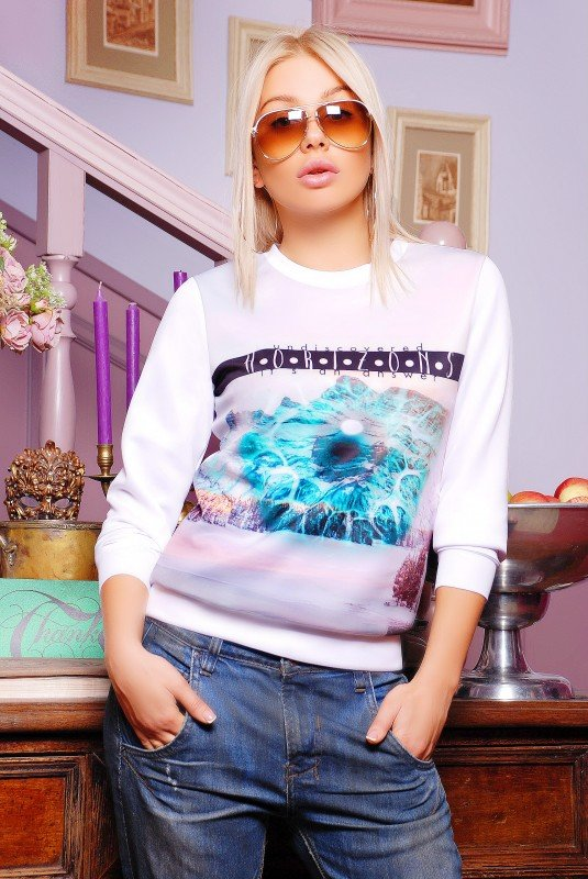 "Кофта""Sweatshirt"" 1239d FashionUp"