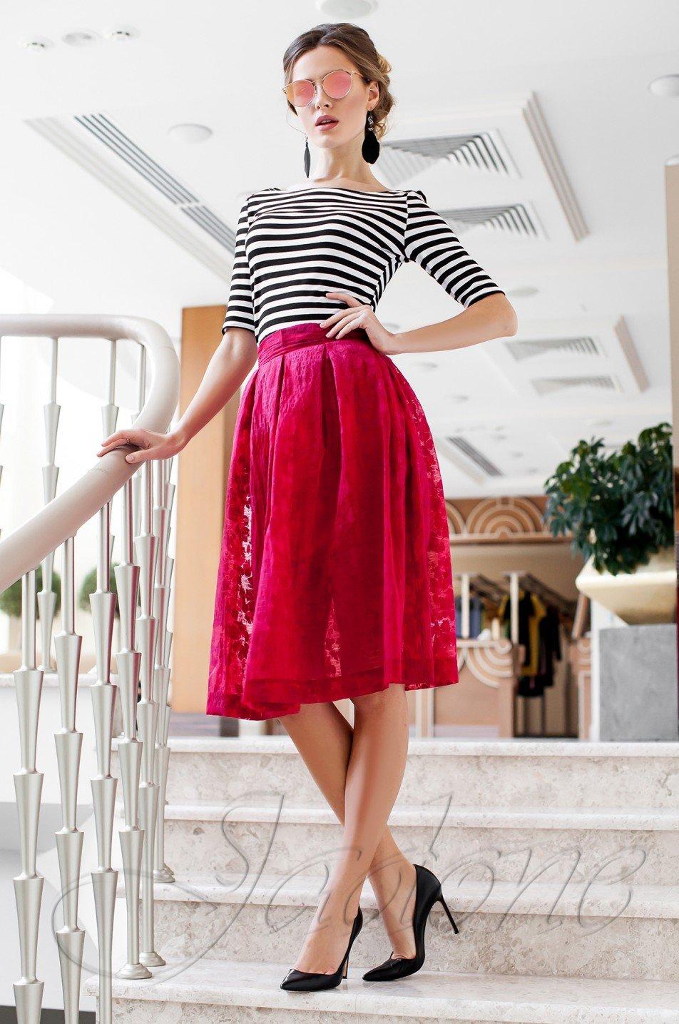 Модний жіночий костюм Малібу червоний - купити недорого — Donna ... 791ee2496ef15