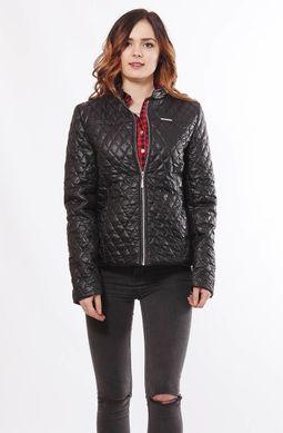 Жіноча чорна куртка 1-Р - купити недорого — Donna Bella - MF-1Р-9-44 251151e9daf10