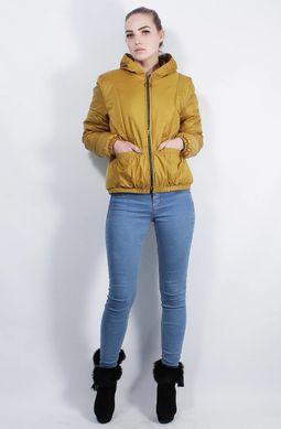 Жіноча гірчична куртка К-40 - купити недорого — Donna Bella - MF-К40 ... 0452fb0339037