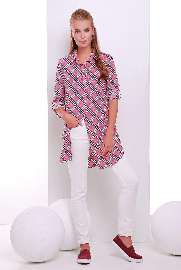 Сукня-сорочка з довгим рукавом Taylor рожевий - купити недорого ... b6523e9c88aaa