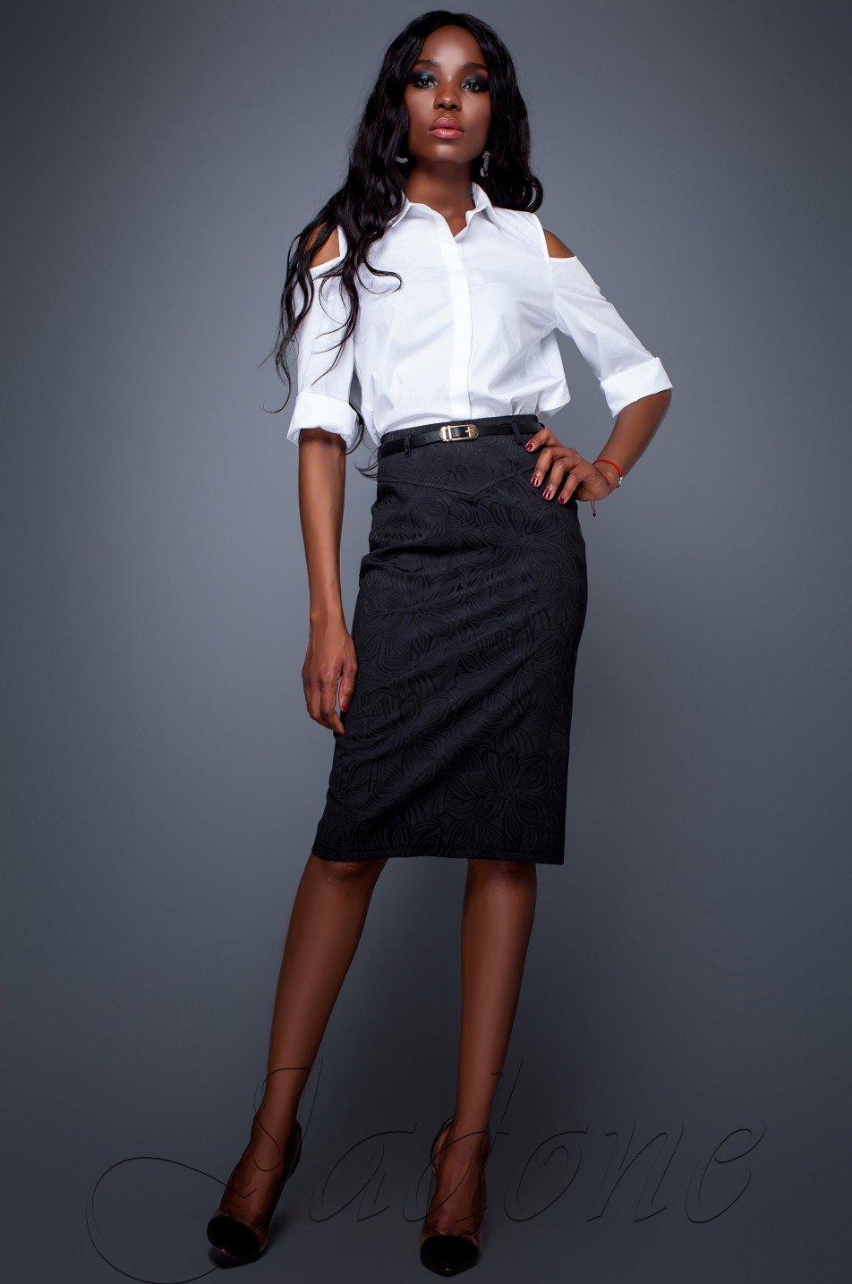 6cb403202e8 Черная женская юбка Лакки - купить недорого — Donna Bella - Лакки М-2-42
