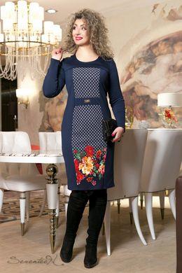 b3365bd8d06625 Синє плаття з принтом 2021 - купити недорого — Donna Bella - 2021-52