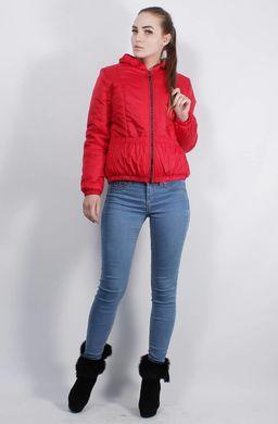 Жіноча червона куртка К-40 - купити недорого — Donna Bella - MF-К40-4-42 86b904eccdcd6