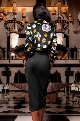 b5ff65724f2 Черная замшевая юбка-карандаш Дарси - купить недорого — Donna Bella ...