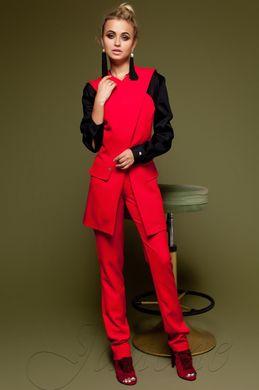 4cbd2ddacdd Брючный женский красный костюм Канди - купить недорого — Donna Bella ...