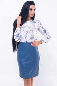 758db7aa660 Синяя юбка Дакота Ри Мари