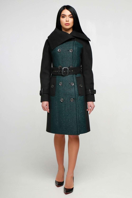Купити демісезонне утеплене пальто в інтернет магазині Donna Bella ec1ec07868ff2