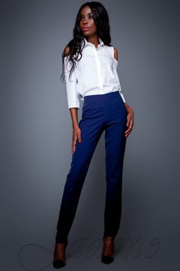 25d65d95055a Женские темно-синие брюки Карси - купить недорого — Donna Bella ...