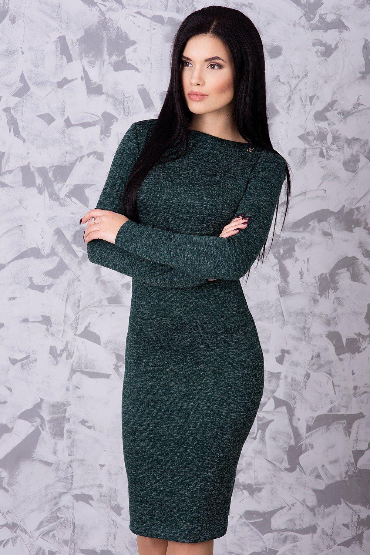 6d9c50f3d51904 Тепла жіноча сукня Ангора бутилка - купити недорого — Donna Bella ...