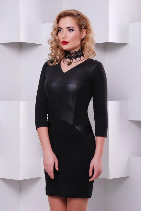 66705e02fe0 Купить молодежное черное платье Дионис в интернете недорого