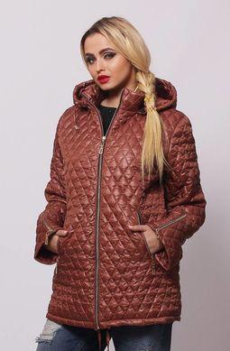 397cc4f793d Коричневая весенняя куртка Джина - купить недорого — Donna Bella ...