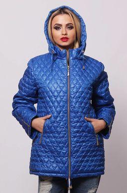 46fbc204030 Демисезонная куртка Джина электрик - купить недорого — Donna Bella ...