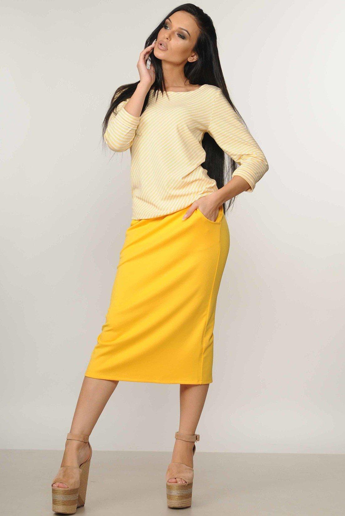 50e9819ca19abc Костюм Сіті жовтий - купити недорого — Donna Bella - Ри-Сити-1-42