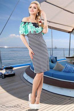 e066b32ceee29f Смугасте плаття 1423 - купити недорого — Donna Bella - 1423-42