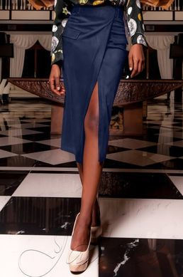 ca607995e48 Синяя замшевая юбка-карандаш Дарси - купить недорого — Donna Bella ...