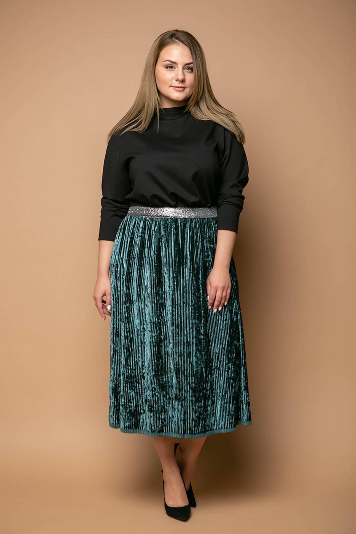 7611d332eee ❈Юбки больших размеров - купить юбку для полных недорого в Украине ...