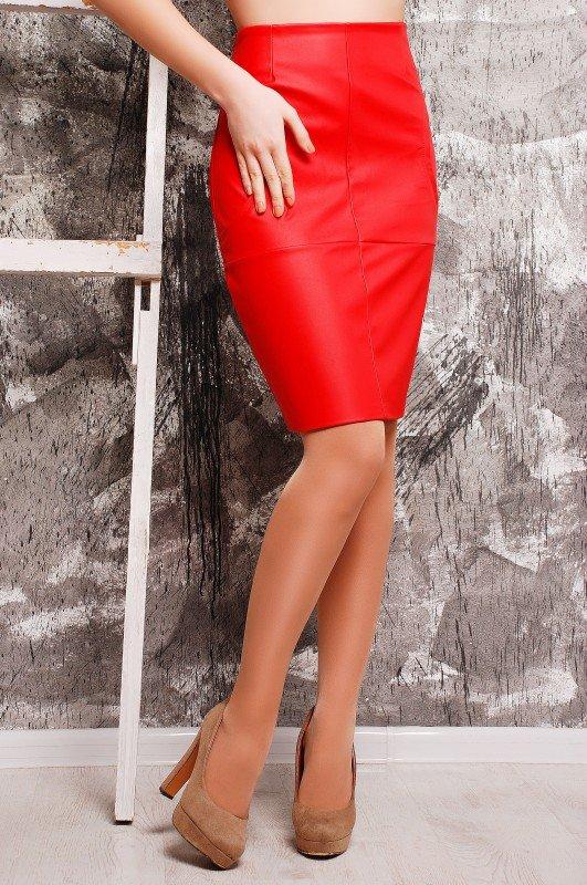 5a943c68622 Офисная красная юбка Office - купить недорого — Donna Bella - YB ...