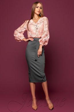 6580644ec78 Серая юбка-карандаш Жаклин - купить недорого — Donna Bella - J ...