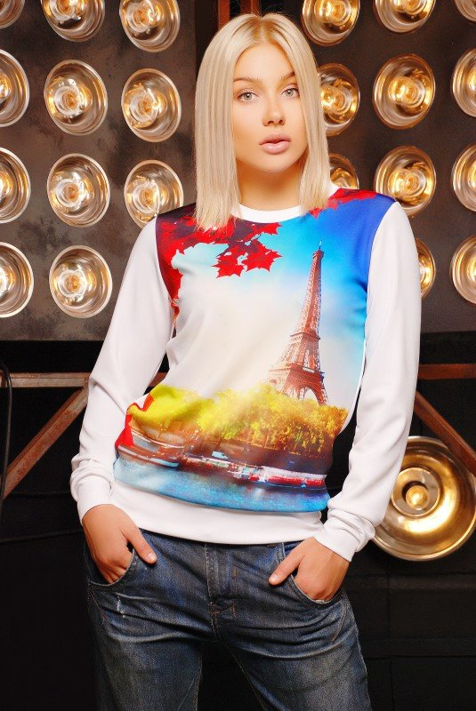 "Кофта""Sweatshirt"" 1188d FashionUp"